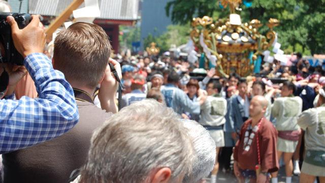 灘のけんか祭りの神輿の重さ
