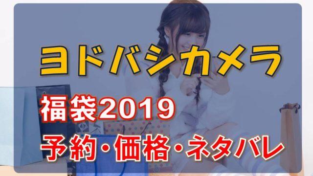 ヨドバシカメラ_福袋2019