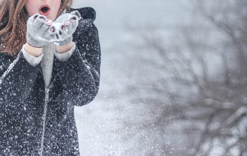 ママ向け雪遊びウェア