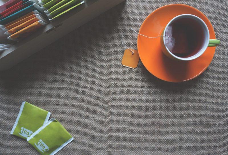 体を温めるお茶