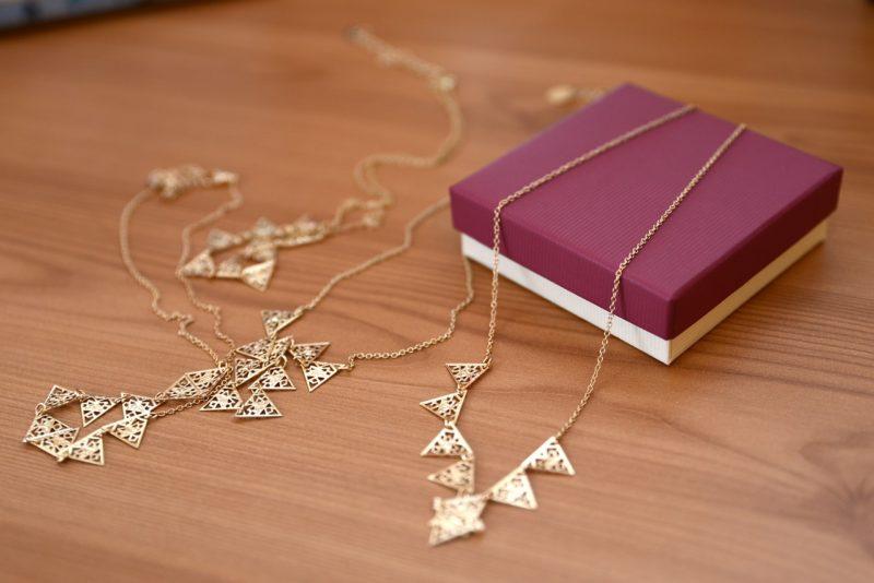 彼女へのネックレスをプレゼント