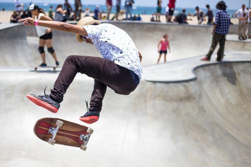 スケートパトロールの日