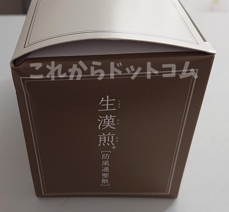 生漢煎 防風通聖散レビュー②